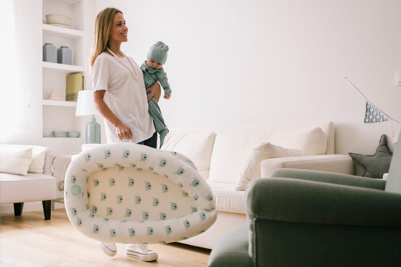 Con el nido, tu bebé siempre cerca