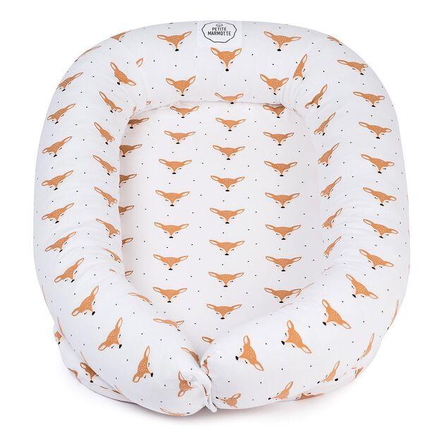Bambi, nuestra colección más tierna, delicada y dulce! Espero que os guste tanto como a nosotras 🥰. Hemos hecho un montón de productos con esta tela ☺️. . #petitemarmotte #nidobebe #cunanido #babynest #algodonorganico #minicuna #canastillabebe
